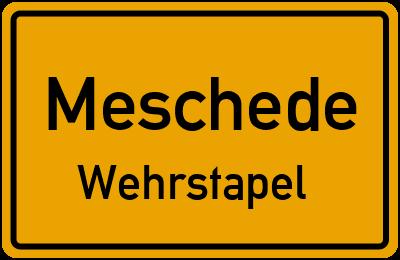 Schultenweg in MeschedeWehrstapel