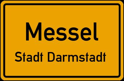 Straßenverzeichnis Messel Stadt Darmstadt