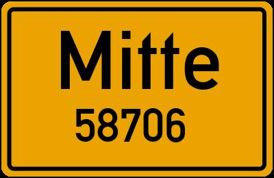 58706 Mitte