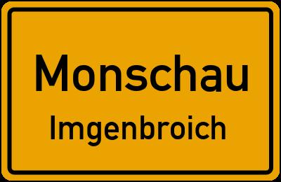Straßenverzeichnis Monschau Imgenbroich