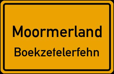 Unterende Moormerland Boekzetelerfehn