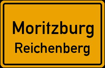 Ortsschild Moritzburg Reichenberg