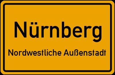 Aachener Straße in NürnbergNordwestliche Außenstadt