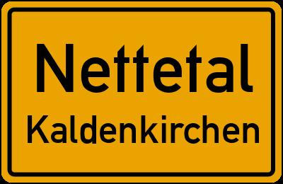Ortsschild Nettetal Kaldenkirchen