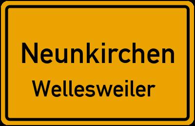 Straßenverzeichnis Neunkirchen Wellesweiler