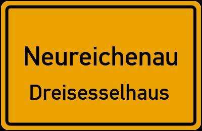 Ortsschild Neureichenau Dreisesselhaus