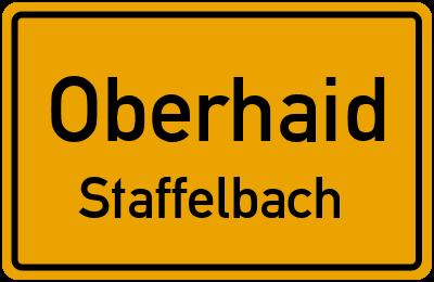 Amselweg in OberhaidStaffelbach