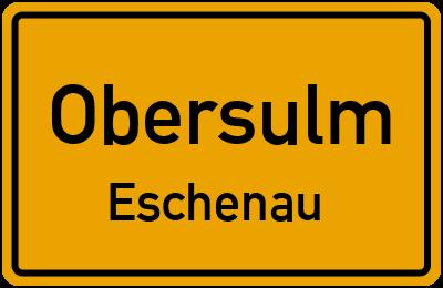 Amselweg in ObersulmEschenau