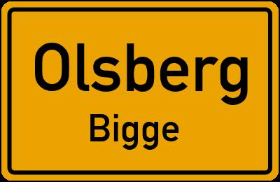 Eichenweg in OlsbergBigge