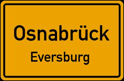 Heinrich-Kriege-Straße in OsnabrückEversburg