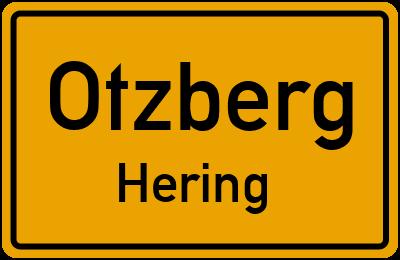 Ortsschild Otzberg Hering