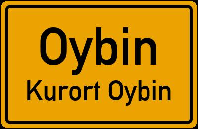 Hubertusweg in OybinKurort Oybin