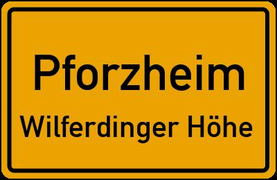 Pforzheim Wilferdinger Höhe