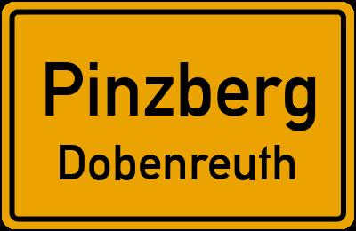Ortsschild Pinzberg Dobenreuth
