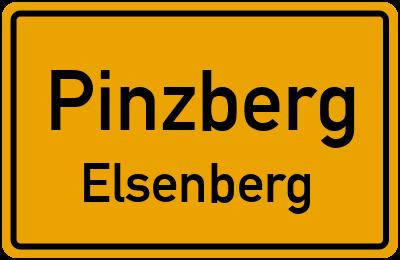 Ortsschild Pinzberg Elsenberg