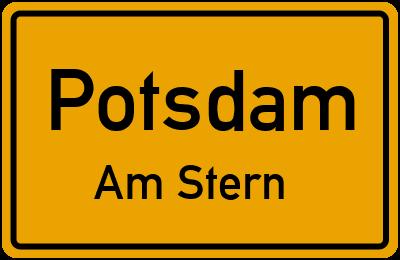 Straßenverzeichnis Potsdam Am Stern