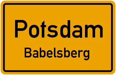 Körnerweg in PotsdamBabelsberg
