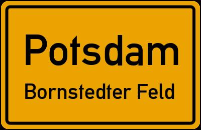 Straßenverzeichnis Potsdam Bornstedter Feld