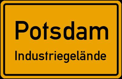 Straßenverzeichnis Potsdam Industriegelände