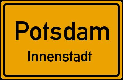 Straßenverzeichnis Potsdam Innenstadt
