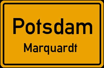 Straßenverzeichnis Potsdam Marquardt