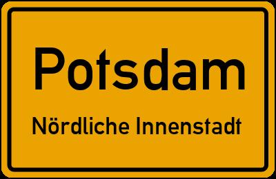 Straßenverzeichnis Potsdam Nördliche Innenstadt