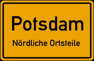 Straßenverzeichnis Potsdam Nördliche Ortsteile