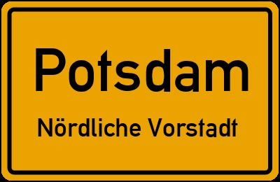 Straßenverzeichnis Potsdam Nördliche Vorstadt
