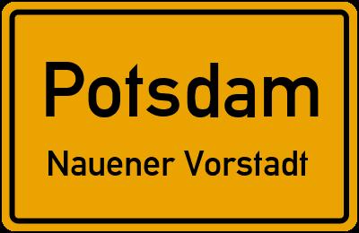 Straßenverzeichnis Potsdam Nauener Vorstadt