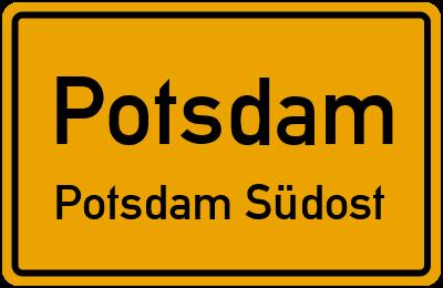 Straßenverzeichnis Potsdam Potsdam Südost