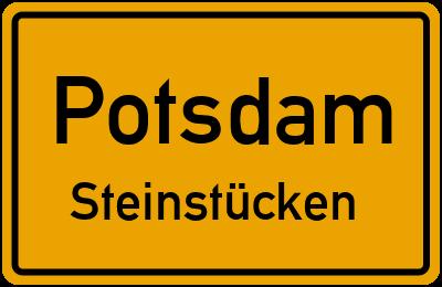 Straßenverzeichnis Potsdam Steinstücken