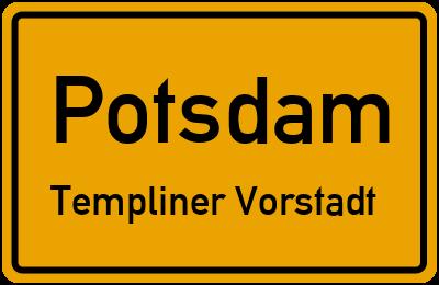 Straßenverzeichnis Potsdam Templiner Vorstadt