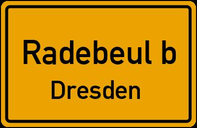 Branchenbuch Radebeul b. Dresden, Sachsen