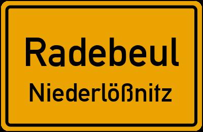 Ledenweg Radebeul Niederlößnitz