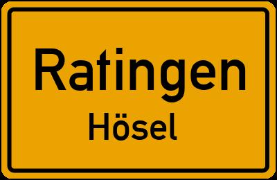 Amselweg in RatingenHösel