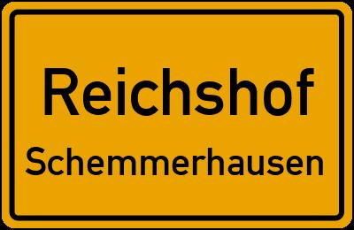 Ortsschild Reichshof Schemmerhausen