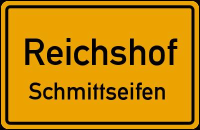 Ortsschild Reichshof Schmittseifen