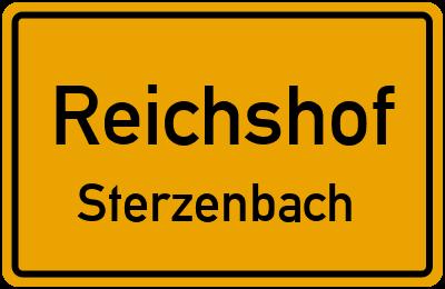Ortsschild Reichshof Sterzenbach