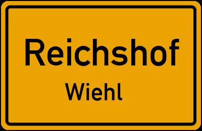 Ortsschild Reichshof Wiehl