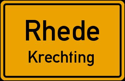 Amselweg in RhedeKrechting