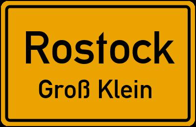 Straßenverzeichnis Rostock Groß Klein