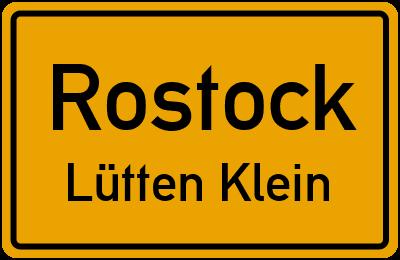 Straßenverzeichnis Rostock Lütten Klein