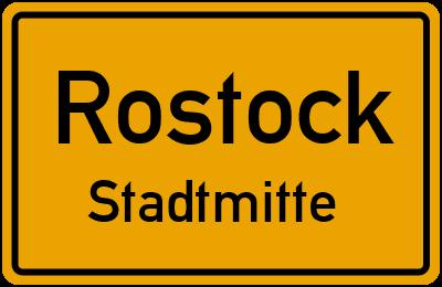 Straßenverzeichnis Rostock Stadtmitte