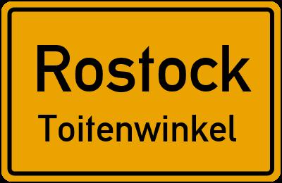 Straßenverzeichnis Rostock Toitenwinkel