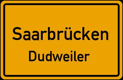 Pestalozzistraße in SaarbrückenDudweiler
