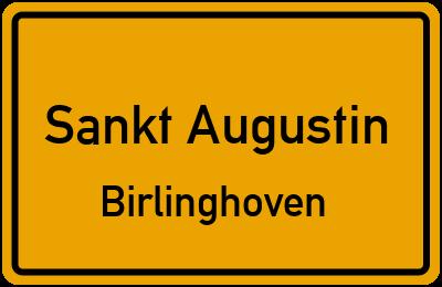 Ortsschild Sankt Augustin Birlinghoven