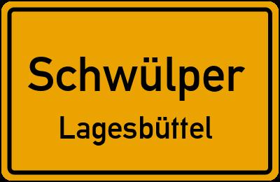 Ortsschild Schwülper Lagesbüttel