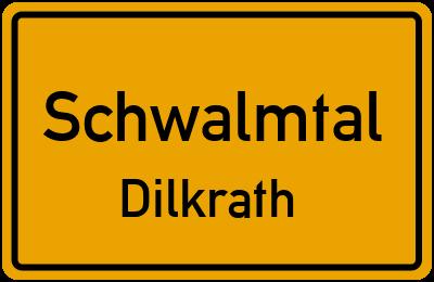 Ortsschild Schwalmtal Dilkrath