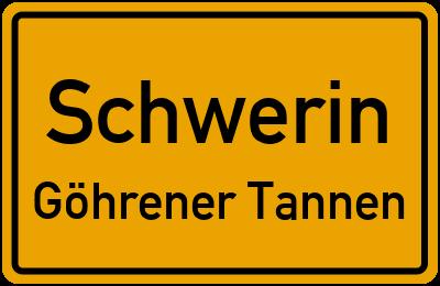 Schwerin Göhrener Tannen