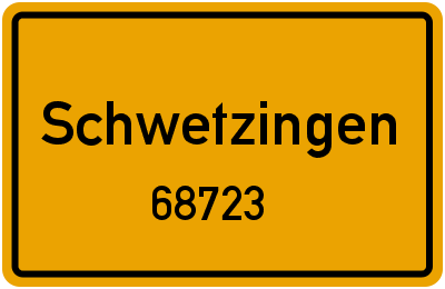 68723 Schwetzingen